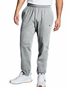 Champion Authentic Menand039s Athletic Pants Closed Bottom Jersey Sweatpants Workout