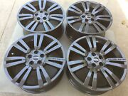 20 New Oem Factory Made In Germany Range Rover Gunmetal Supercharged Wheels.
