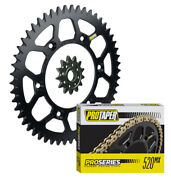 Pro Taper Sprockets And Pro Series Forged O-ring Chain Kit - Suzuki Drz400 Rm250