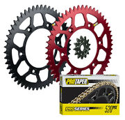 Pro Taper Sprockets And Pro Forged Mx Chain Kit For Honda Crf150f And Crf230f