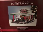 Kohland039s Sns St. Nicholas Square Village Bettyand039s Diner Brand New In Box Vh08002-09