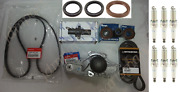 Genuine Water Pump And Timing Belt - Seal Kit W/ Tensioners For Honda And Acura V6