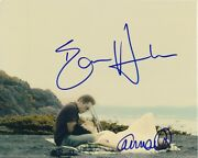 Ethan Hawke And Carmen Ejogo Signed Autographed Born To Be Blue Chet Baker Photo