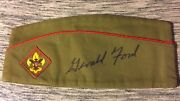 President Gerald Ford Hand Signed Boy Scout Hat One Of A Kind Rare W/coa