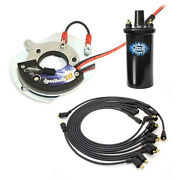 Pertronix Ignition Module/coil And Spark Plug Wire Kit For Bronco/ltd/thunderbird