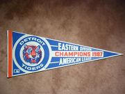 Detroit Tigers 1987 Eastern Division Champions American League Baseball Pennant