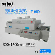 Led T960 Reflow Oven Bga Smt Sirocco And Rapid Infrared Soldering Machine Pid Ce E