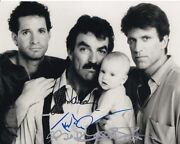 Tom Selleck Ted Danson Steve Guttenberg Signed 3 Men And A Baby Photo Rare