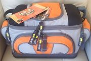 Plano Fishing Tackle Carry Bag With 4 Utility Lures Large Storage Boxes - 4672