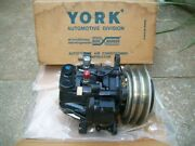Nos York Borg Warner Air Conditioning Ac Compressor Vr4912t-30510 Made In Usa