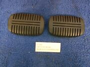 1947-55 Chevy Gmc Truck Brake And Clutch Pedal Pads Pair Nors 618