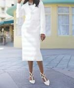 Occasions Bridal Wedding Mother Of Bride Womenand039s White Jacket Dress Plus 24w 3x