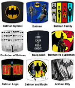 Lampshades Ideal To Match Batman And Robin Duvets And Batman And Robin Wall Decals