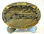 Case Ih 4494 4694 4894 4994 94 Series 4wd Tractor And Planter Belt Buckle 1988 Cih