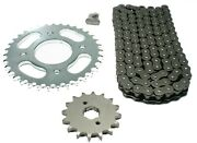 Honda Cm400t 1979 1980 1981 O-ring Chain And Sprocket Set - Cm 400t 400