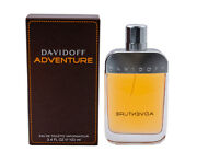 Adventure By Davidoff 3.4 Oz Edt Cologne For Men New In Box