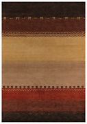 Area Rugs - Copper Canyon Hand Knotted Wool Rug - 8and039 X 11and039