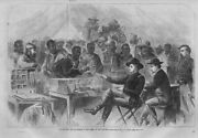 Negroes Employed As Teamsters Getting Paid In The Army Of The Potomac Civil War