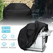 58 67 Waterproof Barbecue Bbq Gas Grill Cover For Weber Char-broil Nexgrill