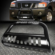 For 05-16 Nissan Frontier/pathfinder Black 3 Bull Bar Push Bumper Grille Guard