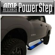Amp Power Side Step W/plug And Play And Pass Thru Harness For 16-17 Nissan Titan