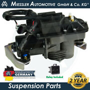Gmc Envoy Xuv 2002-2006 New Air Ride Suspension Compressor And Relay 25805727
