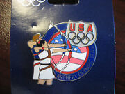 Lot Of 50 Pins -team Usa Olympic Pin - Archery