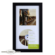 Cd Display Case Frame By Studio Decor - Displays Disc And Cover Art