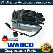 Audi A8 Quattro 4h And03911-18 Oem New Air Suspension Compressor And Relay 4h0616005c