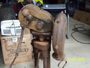 Antique Blacksmith Forge Blower Champion No.400 Blower And Forge