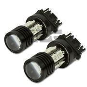 3157 10-smd Q5 12v 7w Red Super Bright Led Projector Cree Lights/lamps Bulb Pair