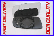 Vw Golf 4 Iv 1997-06 Door Wing Mirror Glass Wide Angle Left