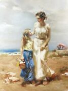 Pino By The Sea   Signed Giclee/canvas   Large 40x30   Others Avail   Gallart