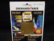 Eberhard Faber Easy Metal 8780-11gold Oro Guld Overlay Covering Gold Leaf Art
