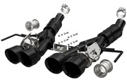 Magnaflow Axleback Competition Series Exhaust System Black Coated 4 C7 Corvette