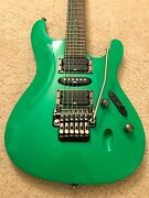 Ibanez S1xxv Fluorescent Green Electric Guitar 25th Anniversary Limited Edition