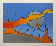 Peter Max Close To The Sun 1978   Signed Serigraph   Pop Art   Make An Offer