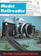 Model Railroader Aug.1973 Feed Seed Plant Santa Fe 4-6-4 Signs Uncoupling Ramps