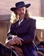 Keith Carradine Signed Autographed Deadwood Wild Bill Hickock 11x14 Photo