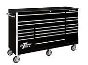 Extreme Tools Rx722519rcbk 72 Rx Series 19-drawer Roller Cabinet - Black