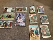 Misc-3434 Lot Of 11 Victorian Trade Cards Indians - Native Americans
