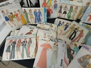 Vintage Cool 1970s Sewing Patterns Dresses Pantsuits Bathing Simplicity Mccalls