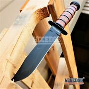 Wartech 12 Military Usmc Tactical Hunting Survival Fixed Blade Hunting Knife W/