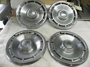 1971 1972 Chevrolet Chevelle 14 Inch Hub Caps Wheel Covers Nice Cool Wow Vintage