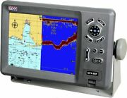 X10d Gps Chartplotter Gpx-80f Complete With Bronze Thru-hull Transducer