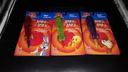 Set Of 3 Pez Candy Pens- Bugs, Tweety And Taz - New In Package