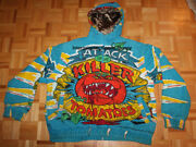 1990's Custom Attack Of The Killer Tomatoes Pullover Hoodie Jacket