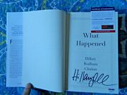 What Happened Signed By Hillary Rodham Clinton 2017 Hardcover Psa/dna Ad88125