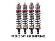 Elka Suspension 2.0 Stage 1 Front And Rear Shocks Kit Can-am Commander 1000