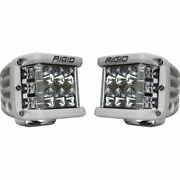 Rigid Industries 862313 White D-ss Series Pro Driving Light Pods - Pair